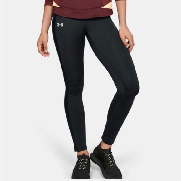adolescentes Rápido tinción  Under Armour Pants & Jumpsuits | Under Armour Cold Gear Coupe Ajustee  Leggings | Poshmark